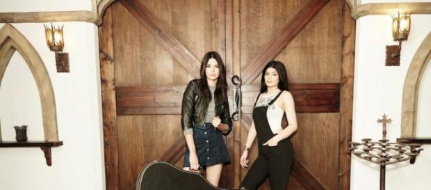 Die Schwestern Kendall und Kylie Jenner