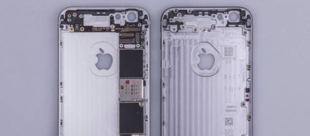 Este es el iPhone 6s por dentro
