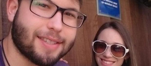 Namorados Luccas e Larissa (arquivo pessoal)