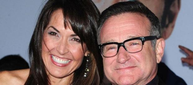 Robin Williams y su esposa Susan