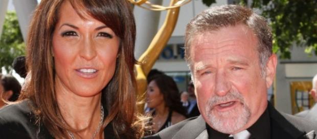 Robin Williams y su mujer Susan Schneider
