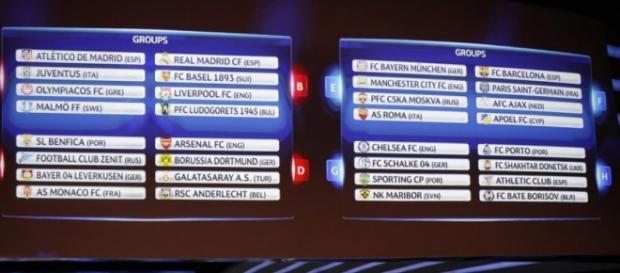 UEFA Champions League - etapa a patra