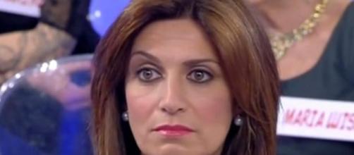 Barbara De Santi felice al fianco di Massimo