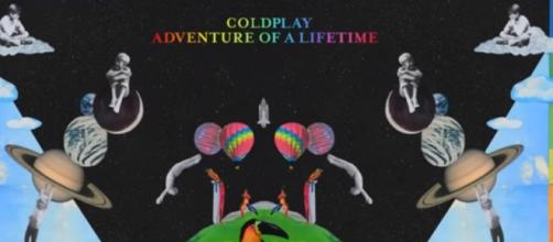 "Coldplay, il nuovo album ""Adventure of a lifetime"""