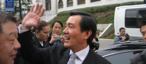 Il presidente di Taiwan, Ma Ying-jeou
