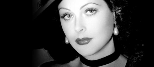 Retrato de Hedy Lamarr. Foto fija, Hollywood