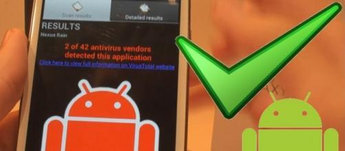 Virus detectado en teléfono Android