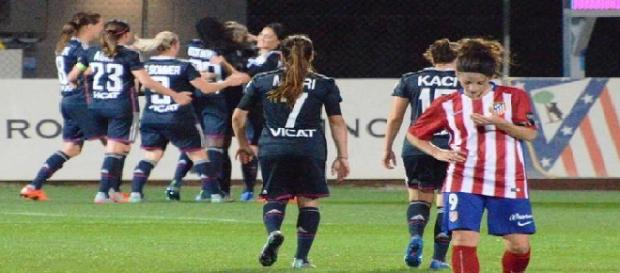 Atlético de Madrid Féminas-Olympique de Lyon
