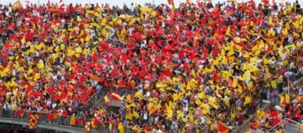 I tifosi del Lecce saranno presenti a Catanzaro.