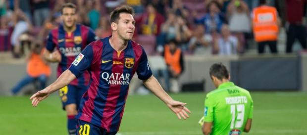 Messi continua a ser a grande ausência do Barça