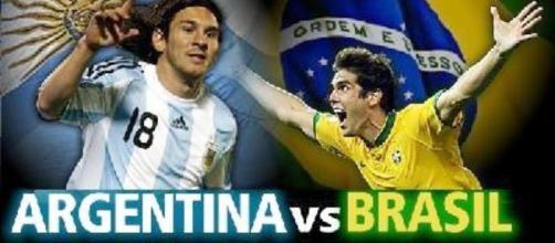 Argentina e Brasile venerdì 13 ottobre