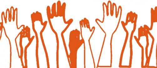 Asamblea participativa, votaciones, dibujo