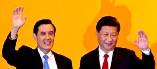 China and Taiwan have an historic meeting.