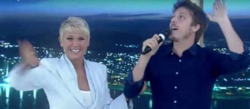 Porchat na Xuxa (Reprodução/Record)