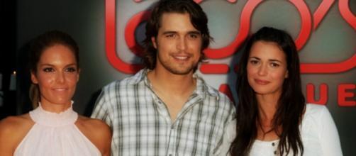 Protagonisti della soap (foto dal sito Kataweb).