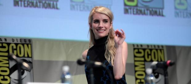Emma Robert at the 2015 Comic Con