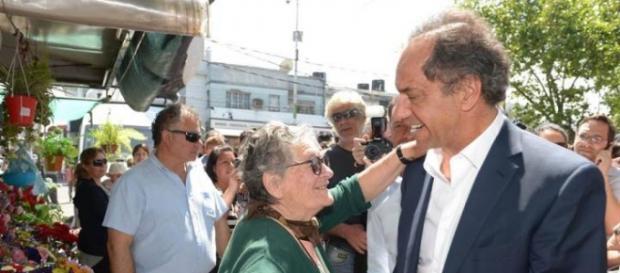 Jubilados con Scioli; Macri siembra miedo y dudas