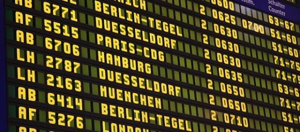 Many flights have been cancelled