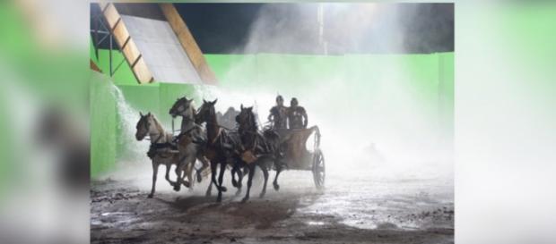 Ramsés perde seu exército em Os Dez Mandamentos
