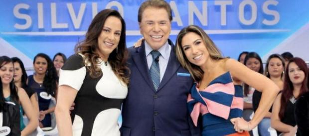 Silvio Santos diz que Silvia Abravanel parece tia