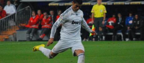 Cristiano Ronaldo en un lanzamiento