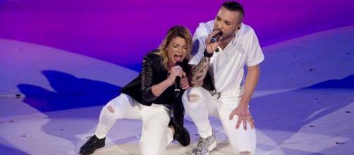 Emma Marrone e Mattia Briga duetto.