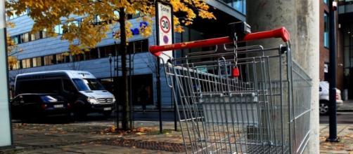Imagen de un carrito de supermercado.