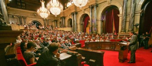 Imagen del Parlament de Cataluña.