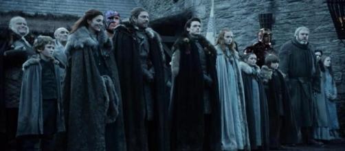 La familia Stark en 'Juego de Tronos'