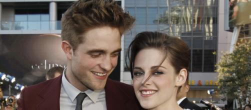 Robert Pattinson and Kirsten Stewart