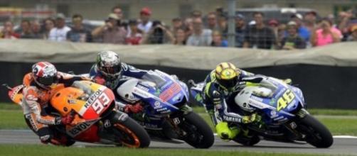 Valentino Rossi e l'errore di Misano