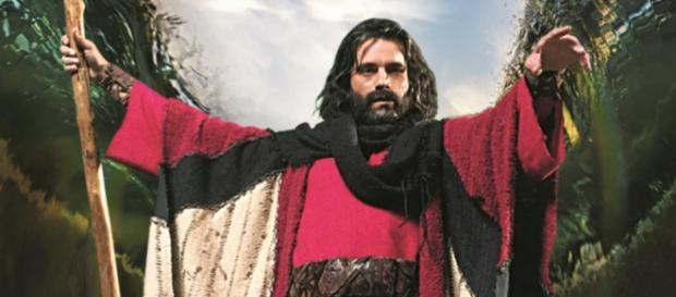 Moisés abre o Mar Vermelho e salva os hebreus