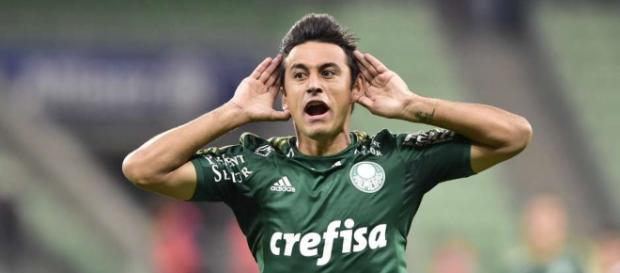 Robinho, meia do Palmeiras no torneio