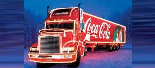 Caravana Iluminada de Natal Coca-Cola