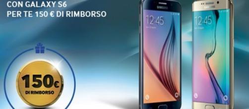 I due Samsung Galaxy S6 e S6 Edge