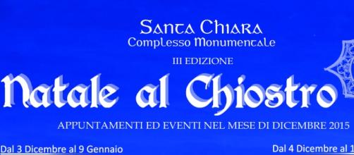 Natale al Chiostro alla sua III edizione