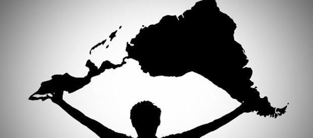 America Latina com intercâmbio acadêmico