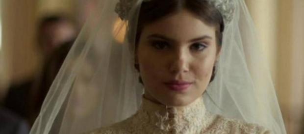 Angel se casa em 'Verdades Secretas'