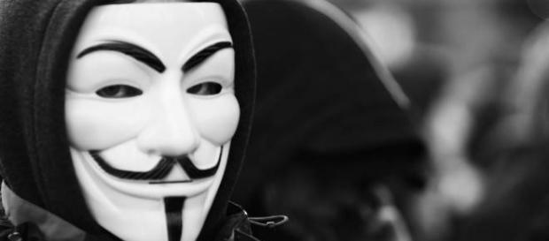 Anonymous em guerra cibernética. Foto: Flickr
