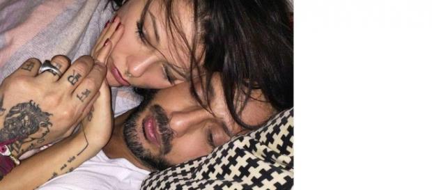 Fabrizio Corona e Silvia Provvedi su Instagram.