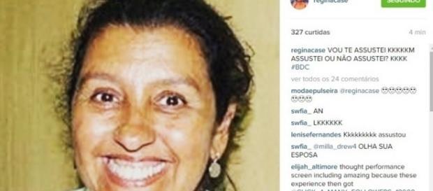 Perfil de Regina Casé é hackeado