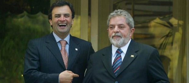 Segundo pesquisa, Lula não venceria Aécio