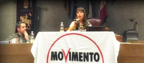 L'on Silvia Chimienti durante un intervento