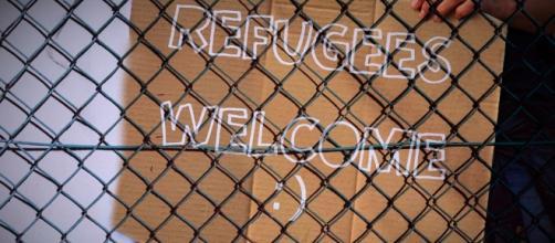 Os refugiados são bem vindos ao Canadá.