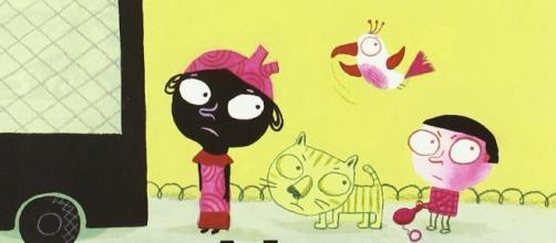 Portada del libro ilustrado '¡Al Furgón!'