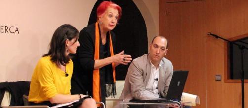 Rosa María Calaf en Casa África. Foto: GARDEU