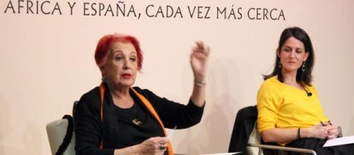 Rosa María Calaf en Gran Canaria.
