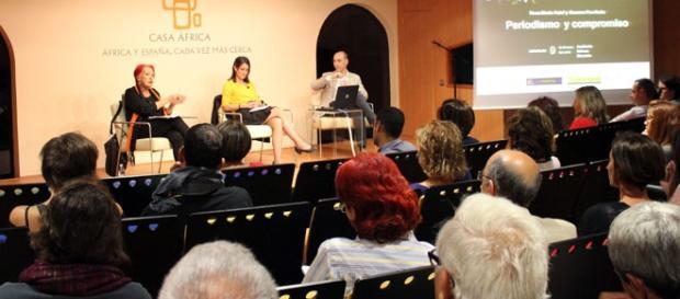 Ciclo de conferencias en Casa África. Foto: GARDEU