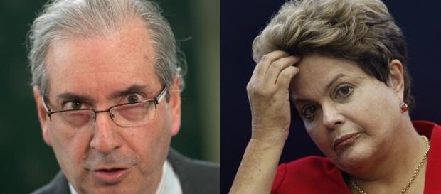 Dilma Rousseff x Eduardo Cunha
