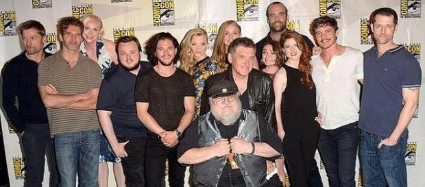 El cast de 'Juego de Tronos' en la ComicCon